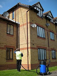 Gutter cleaning in West Sussex and Surrey